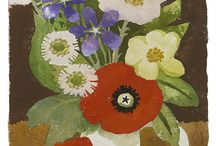 """[1915 - 2012] Mary Fedden / """"I really float from influence to influence…. I found the early Ben Nicholsons fascinating as were the paintings of his wife Winifred. I also admire the Scottish artist Anne Redpath and the French painter Henri Hayden."""""""