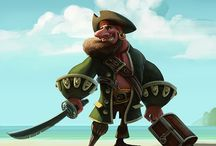 Character Design (Pirate)