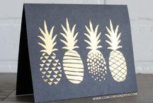 Stamp Set Pineapple