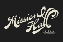 Mission Hall marks / Mission Hall Creative's brand marks and fun graphics