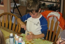 Why its awesome to bring your family to paint / by Joan Clasbey