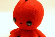 Felt and Plushiepalooza / All the cute plushies on the internet!!!! Also just cute felt projects I want to try