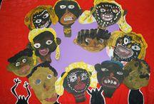 Африка. Детское творчество.