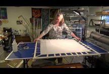Zijde schilderen frame maken
