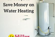 Energy Savings / How to save energy and money around the home. #plumbing #electrical #heating #cooling #HVAC