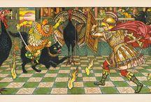 Fairy tale -The Yellow Dwarf