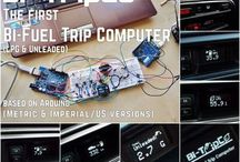Bi-Fuel Trip Computer using Arduino / LPG and Unleaded Car Trip Computer using Arduino