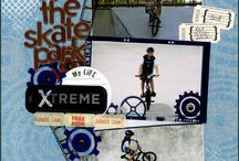 Biking Scrapbooking / Layouts and products for scrapbooking your biking pictures