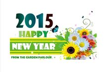 Happy New Year / Gardening for the New Year 2015