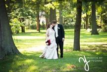 Wedding Photos - Bride & Groom Portraits / Wedding pictures featuring Brides & Grooms | http://www.photosbyyvonne.net/weddings/