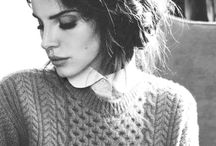 Classic: White Knit sweater