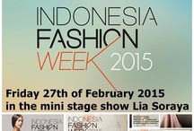 Indonesia Fashion Week 2015