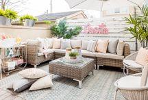 Patio Life Designed by Jo Alcorn / Outdoor living, patio design, patio décor, small outdoor spaces, outdoor spaces, outdoor decor