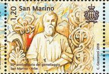 Cod. 660: 50° anniv. gemellaggio San Marino/Arbe