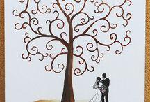 Esküvői dekoráció / Esküvői dekoráció ötletek