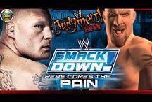 Smackdown! Here Comes The Pain / WWE SmackDown Here Comes the Pain é um game sobre wrestling profissional, lançado pela THQ e realizado pela YUKE's Future Media Creators. O jogo tem como protagonistas os wrestlers da WWE.
