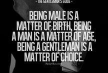 Being a Gentleman