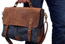Men's Messenger Bag Canvas