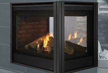 free-standing fireplaces
