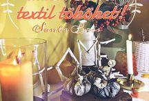 Santa Bros -Textil pumpkins fall decor / http://santabros.blog.hu/2016/09/25/keszits_illatos_textil_tokoket#