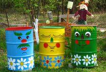 Decorate drums