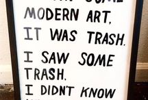 Gallery of stolen inspirations / I saw a modern ART, it was a trash. I saw a trash, I didn't know what to think