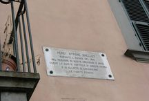 Shelley's places in Italy / two places where Shelley lived in Italy