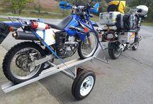 摩托车拖车