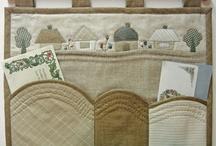 patchwork / prostírání, polštáře, panely