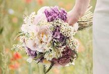 Mixed Garden Rose Wedding / Wedding flowers