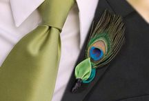 Peacock Inspired Wedding