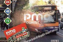 PMO Tourist Card / @nfcitalia: Con la tarjeta PMO Card  conseguirás gran cantidad de ventajas como  transporte público gratuito, y muchos más…