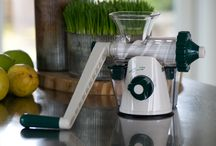 We love juicing / We only sell the juicers that we absolutely love and will juice our precious leafy greens and wheatgrass