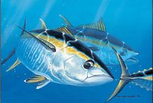 """Local Marine Artists / Guy Harvey says: """"Join with me.  Support the artist.  Support the cause."""""""