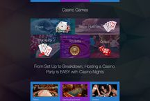 Casino Nights / CI Web Group welcomes you to our collection of Web Designs, Interior Pages, Custom Social Media Banners and Photos for our client. Professional designed by CI WebGroup.