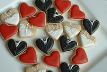 Cookie Art weddings