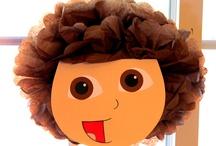 Dora the Explorer and Go Diego Go party