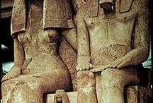 Egypt-Amunhotep III & Queen Tiye