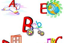 Alphabet Clip Art - Illustrated Alphabet Clip Art Collection / Alphabet Clip Art - Illustrated Alphabet Clip Art - Commercial Use. WELCOME to this STUNNING collection of Illustrated Alphabet Clip Art images.   This bundle contains 26 high-quality COLOR Illustrated Alphabet Clip Art images. Images saved at 300dpi in PNG files.  ENJOY!!!