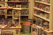 All Things miniature / miniature objects be it toy theatres, dolls, tools, books, anything thats scaled down.