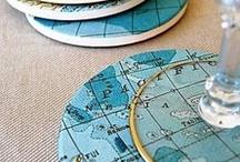 Ideen mit Landkarten