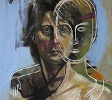 Painting by Sebastian Bieniek (B1EN1EK) / Artwork by B1EN1EK (Sebastian Bieniek). Berlin based artist.