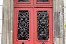 doors, knockers and other acutremonte / the entry to your home is like your eyes---they tell all about you