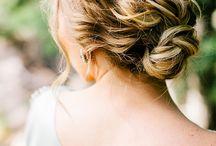 hair, bun, and braid