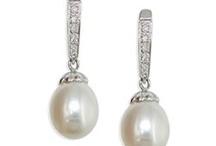 Aros de perlas australianas