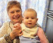 Моя внученька Полина