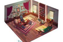 illustration.background.room