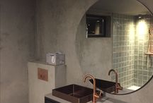Basement renovation / Cooper and grey