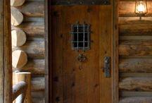 ajtók - rusztikus