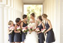 navy and pink wedding / by Cherry Bomb Events